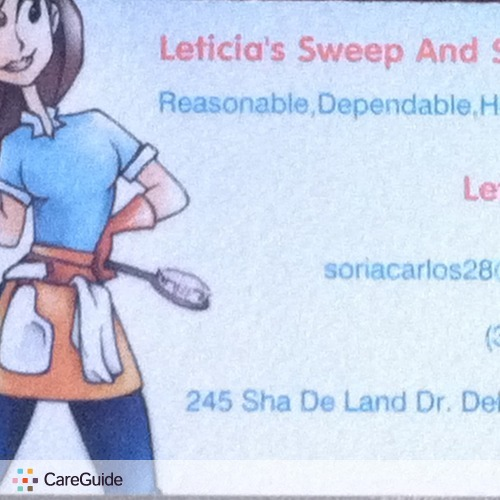 Housekeeper Provider Leticia S's Profile Picture