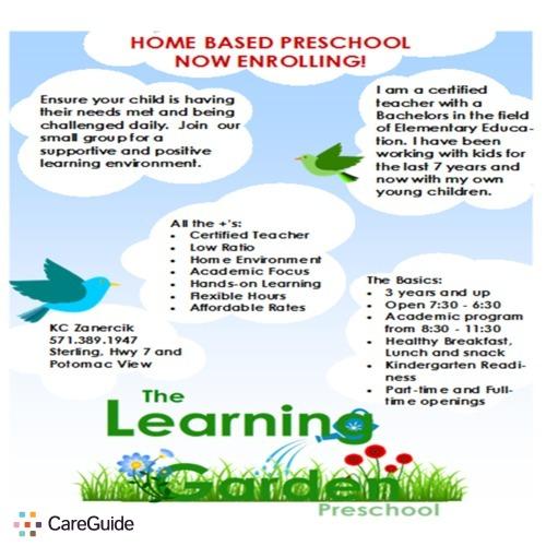 Child Care Provider KC Z's Profile Picture