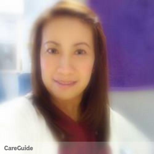 Canadian Nanny Provider Rowena Azada's Profile Picture