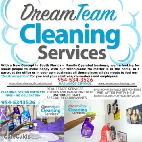 Housekeeper Provider Dream Team Cleaning Services's Profile Picture