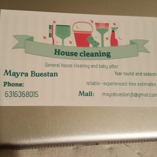 Housekeeper Provider Mayra Buestan's Profile Picture