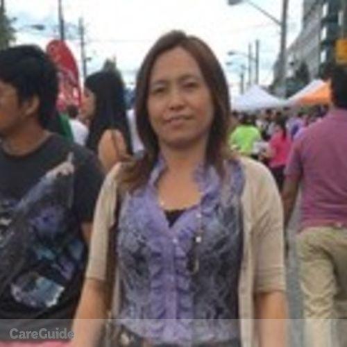 Canadian Nanny Provider Raquel Po's Profile Picture