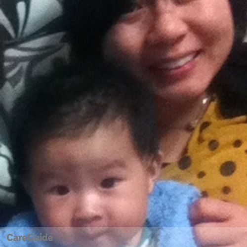 Canadian Nanny Provider Emily Zhong's Profile Picture
