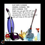 Residential cleaning with integrity.