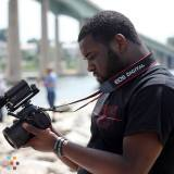 Videographer in Stone Mountain