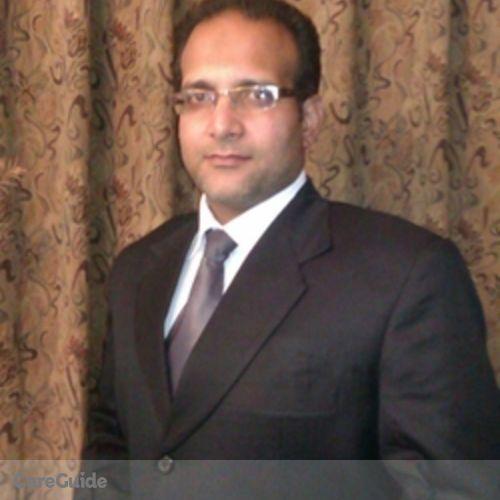 Canadian Nanny Provider Kazim Ali's Profile Picture
