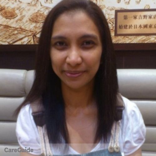 Canadian Nanny Provider Mary Joy Huidem's Profile Picture
