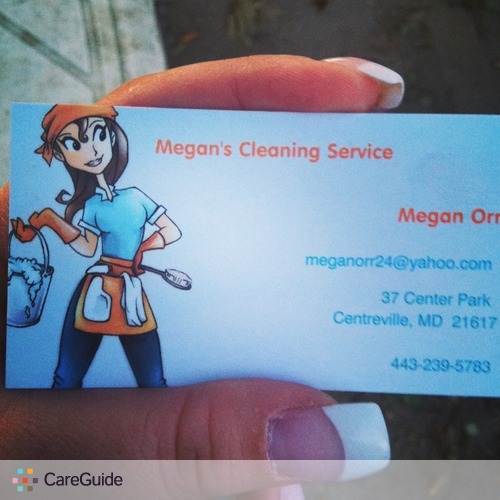 Housekeeper Provider Megan Orr's Profile Picture