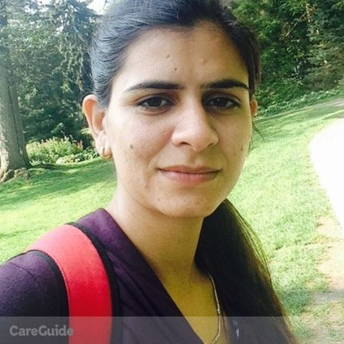 Canadian Nanny Provider Manpreet Joshi's Profile Picture