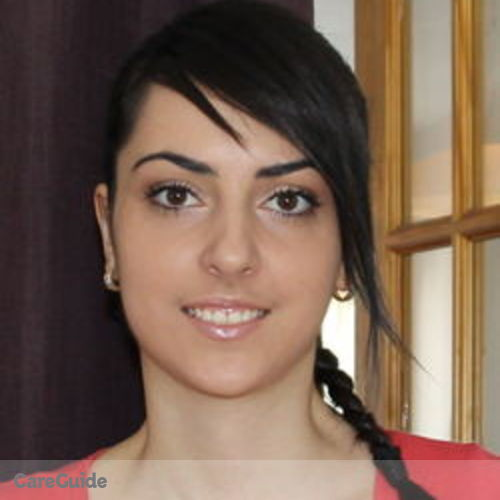 Canadian Nanny Provider Karolina G's Profile Picture