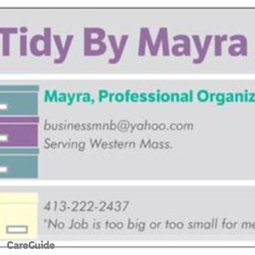 Housekeeper Provider Mayra Rivera's Profile Picture
