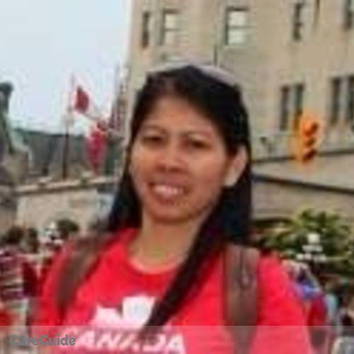 Canadian Nanny Provider Frannie Abueva's Profile Picture