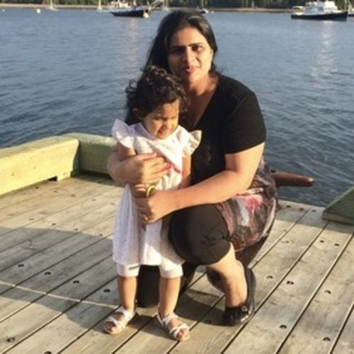 Canadian Nanny Provider Rajni Javed's Profile Picture