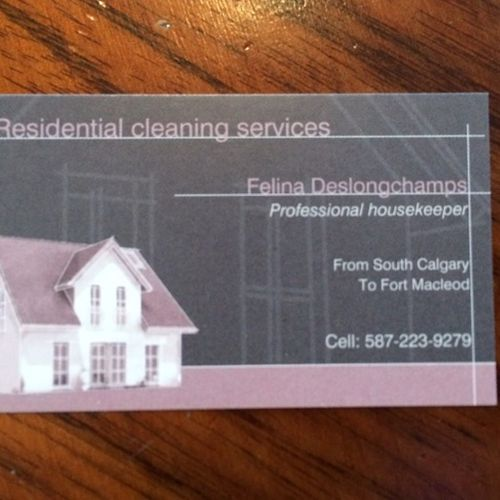 Housekeeper Provider Felina-Ashley Deslongchamps's Profile Picture