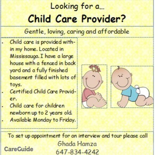 Child Care Provider Ghada Hamza's Profile Picture