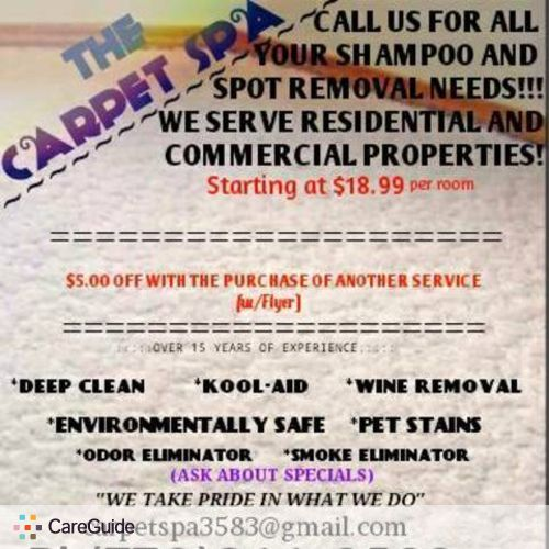 Housekeeper Provider Carpet Spa's Profile Picture