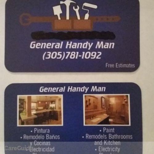Handyman Provider Javier H's Profile Picture