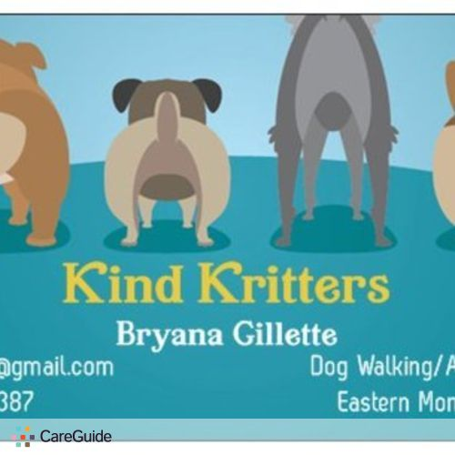 Pet Care Provider Bryana Gillette's Profile Picture