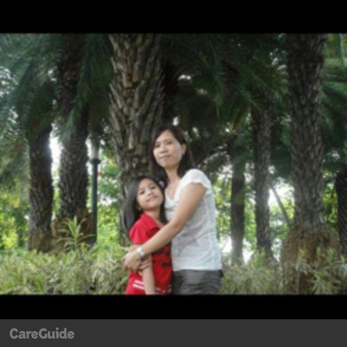 Canadian Nanny Provider Zenaida D's Profile Picture