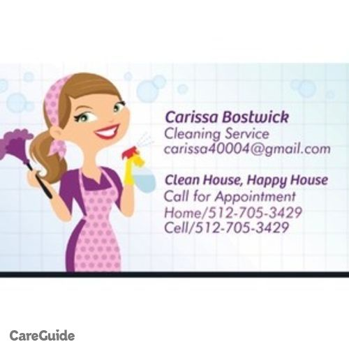 Housekeeper Provider Carissa Bostwick's Profile Picture