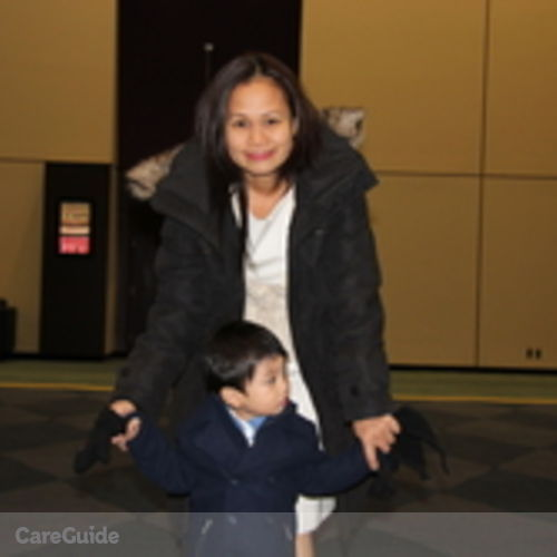 Canadian Nanny Provider Elaine San Miguel's Profile Picture