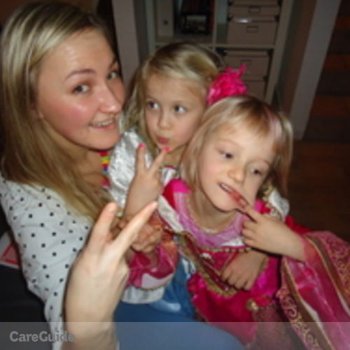 Canadian Nanny Provider Iuliia Zvarych's Profile Picture