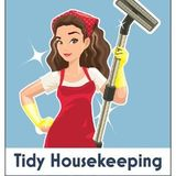 Tidy Housekeeping Thorough, personalized and affordable housekeeping with flexible scheduling to suit your needs.