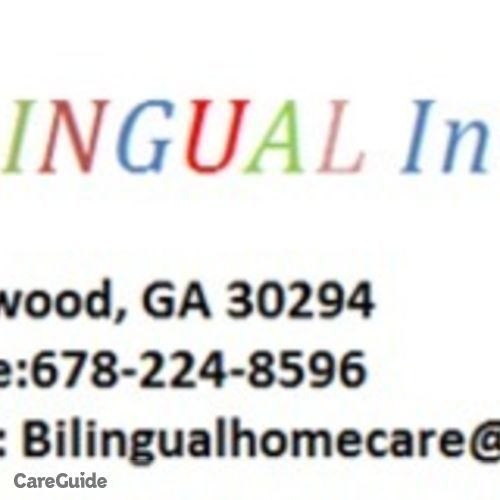 Child Care Provider Bilingual Child Care's Profile Picture