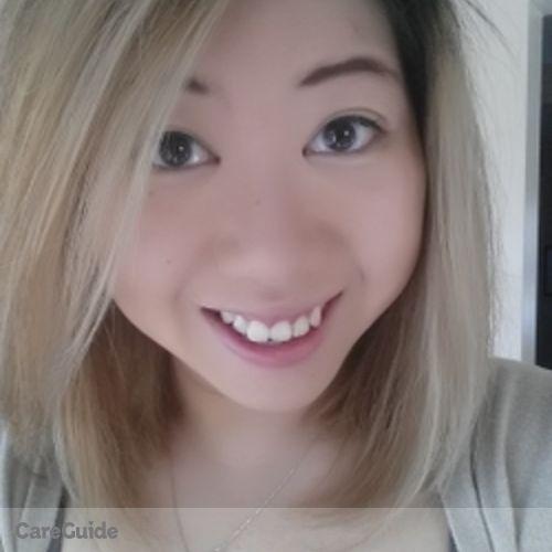 Canadian Nanny Provider Juliana Lau's Profile Picture