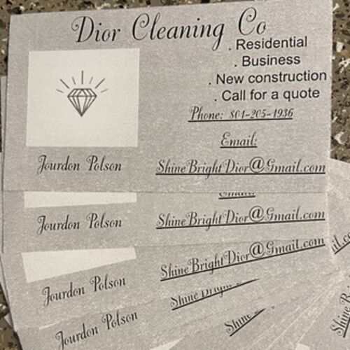 Dior cleaning co