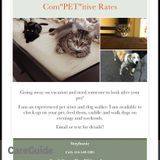Professional and Dependable Pet Sitter