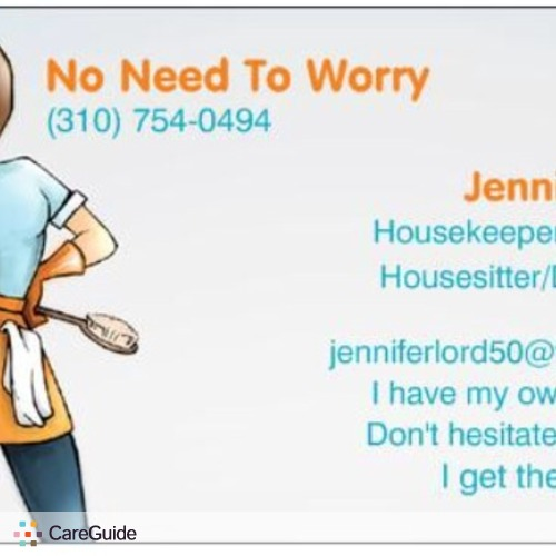 Pet Care Provider Jennifer Lord's Profile Picture