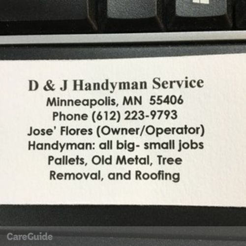 D & J Handyman Services- projects Wanted - Handyman in