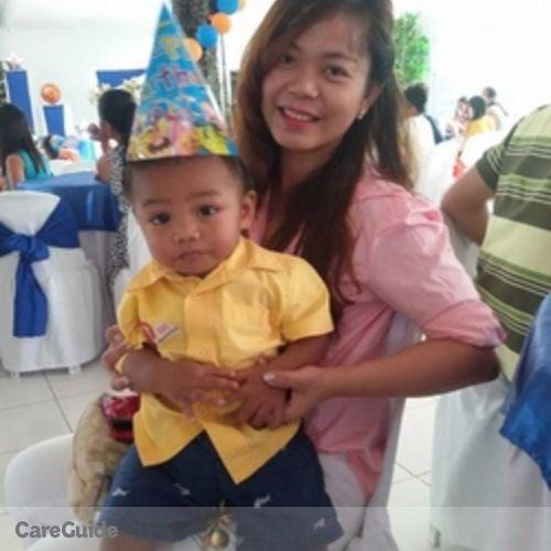 Canadian Nanny Provider Angeline Mae R's Profile Picture