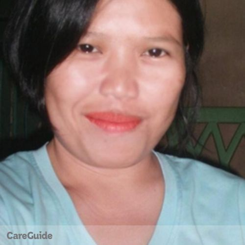 Canadian Nanny Provider Maria Salve Rita's Profile Picture
