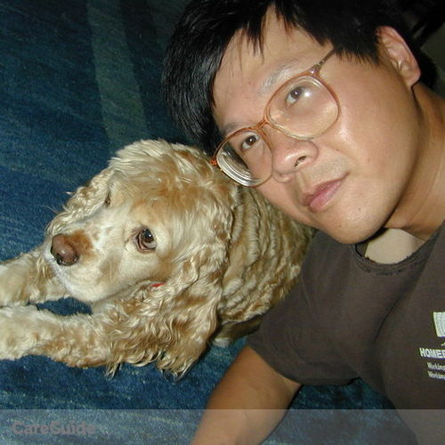 Pet Care Provider David Chen's Profile Picture