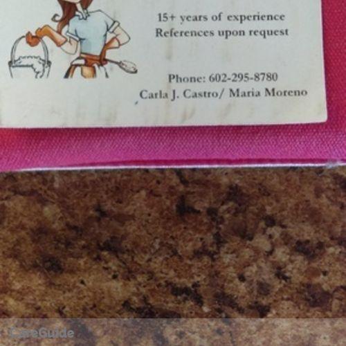 Housekeeper Provider Carla Castro's Profile Picture