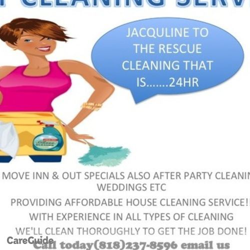 Housekeeper Provider Jacquline Cleaning Service's Profile Picture