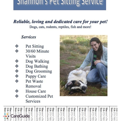 Pet Care Provider Shannon Romeling's Profile Picture