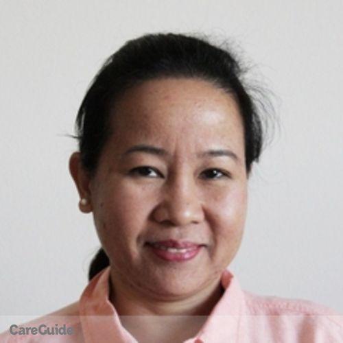 Canadian Nanny Provider Teresita C's Profile Picture