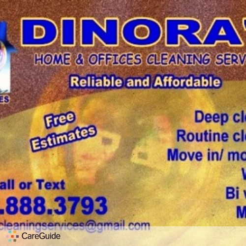 Housekeeper Provider dinora d's Profile Picture