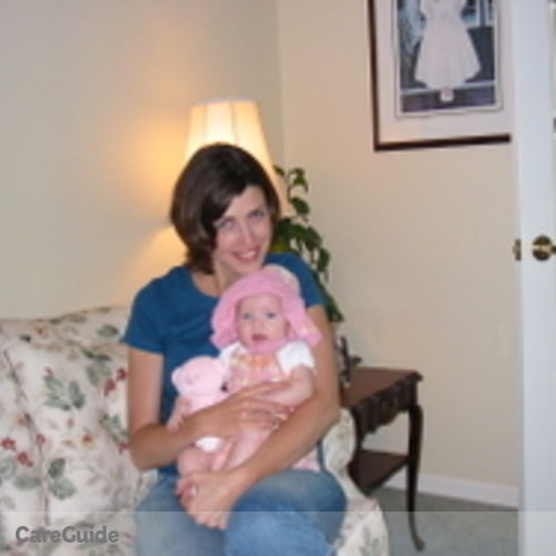 Canadian Nanny Provider Kristina Duff's Profile Picture