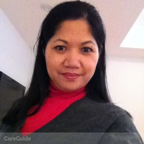 Canadian Nanny Provider Genelyn Sta Ana's Profile Picture