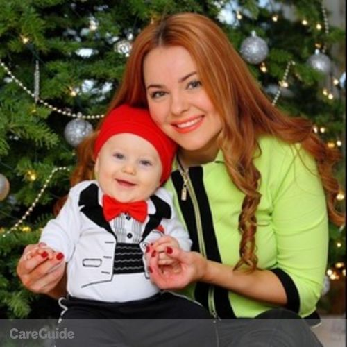 Canadian Nanny Provider Irina Steier's Profile Picture