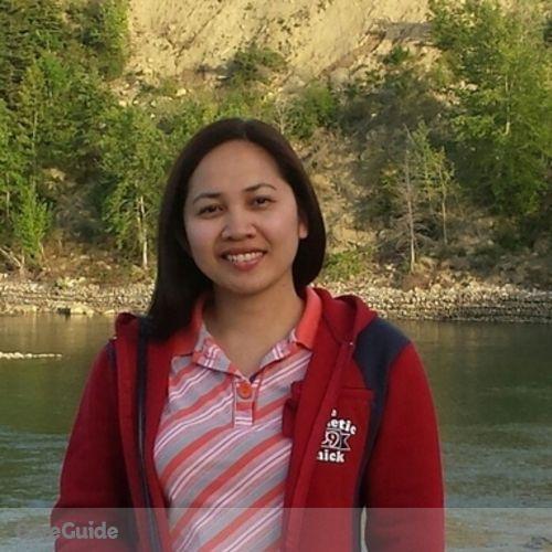 Canadian Nanny Provider Sheryl V's Profile Picture