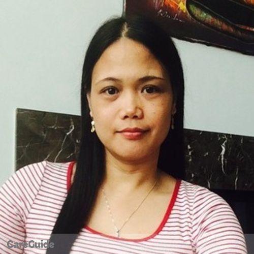 Canadian Nanny Provider Remelia Serrano's Profile Picture