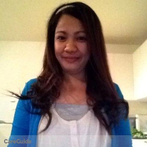 Canadian Nanny Provider Reah fe Sejera's Profile Picture