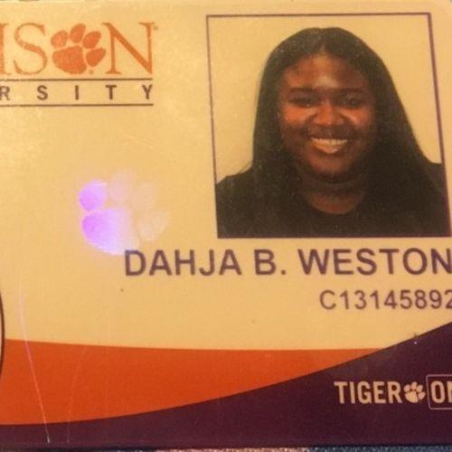House Sitter Provider Dahja Weston's Profile Picture