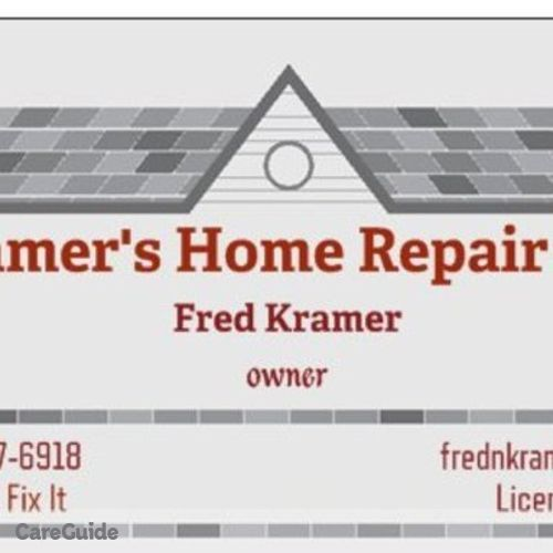 Handyman Provider Fred Kramer's Profile Picture