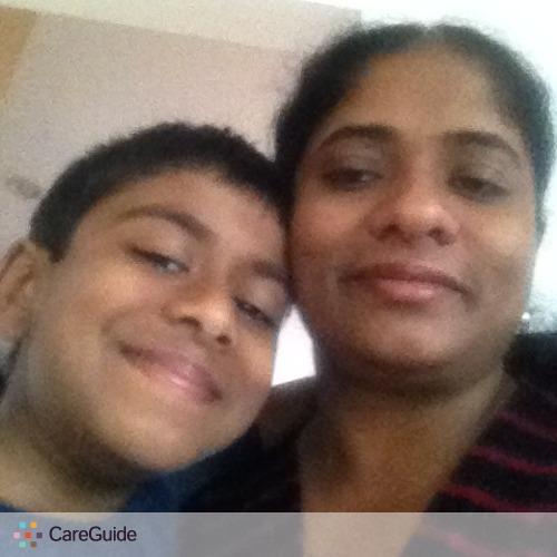 Child Care Provider Radhica A's Profile Picture